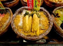 Rabanetes conservados japoneses Imagem de Stock