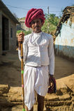 Rabari tribesman Stock Image