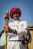 Rabari tribesman Royalty Free Stock Images