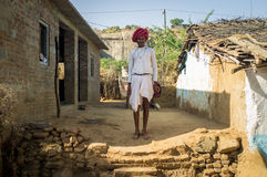 Rabari tribesman Royalty Free Stock Photo