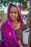 Rabari tribeswoman Stock Images