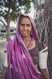 Rabari tribeswoman Stock Image