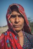 Rabari tribeswoman Stock Photos