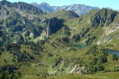 Rabassoles lake in Pyrenees Royalty Free Stock Image