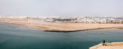 Rabat Beach Royalty Free Stock Photos