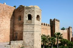 Rabat City-Wall Royalty Free Stock Images