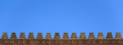 Rabat city walls Royalty Free Stock Photos