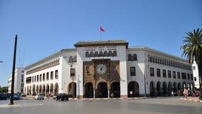 rabat för främre mohamed morocco slott kunglig fyrkant vi Arkivfoto