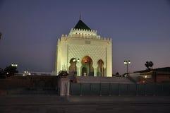 rabat för främre mohamed morocco slott kunglig fyrkant vi Royaltyfria Bilder