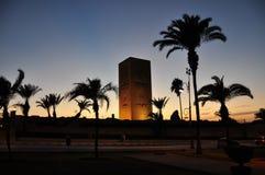 rabat för främre mohamed morocco slott kunglig fyrkant vi Royaltyfri Bild