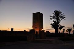rabat för främre mohamed morocco slott kunglig fyrkant vi Royaltyfria Foton