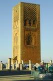 rabat för främre mohamed morocco slott kunglig fyrkant vi Arkivfoton