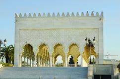 rabat för främre mohamed morocco slott kunglig fyrkant vi Royaltyfri Foto