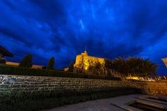 Rabat fortecy noc Zdjęcia Stock