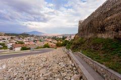 Rabat forteczna droga Akhaltsikhe Zdjęcia Stock