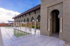 Rabat fortress colonnade. Internal yard with colonnade in Rabat fortress in Georgia Stock Photo