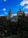RABAT, MALTA. Grotto and Parish Church of St.Paul Royalty Free Stock Photography