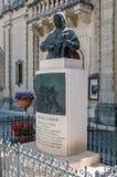 Rabat, Malta - 8 maggio 2017: Busto di Saverio Cassar all'isola di Gozo Fotografia Stock