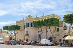 Rabat, Malta - 8 maggio 2017: Ministero per l'edificio di Gozo fotografia stock libera da diritti