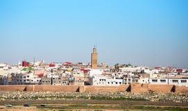 Rabat, Marokko stock illustratie