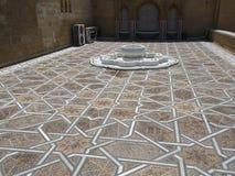 Rabat mausoleum av modeller för Mohammed V stenarabiska Royaltyfria Foton