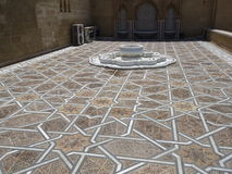 Rabat Mausoleum of Mohammed V stone Arabic patterns Royalty Free Stock Photos