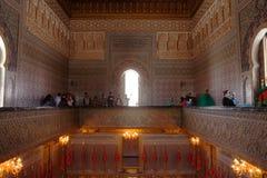 Rabat mauzoleum Mohammed V obrazy stock