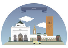 Rabat, Morocco,. Rabat, Morocco. Capital and fourth largest city of Morocco Stock Image