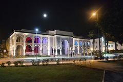 Mohammed VI Museum of Modern and Contemporary Art. Photo was taken in Rabat, Morocco Stock Images