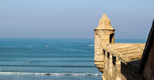 Rabat morze Zdjęcia Stock