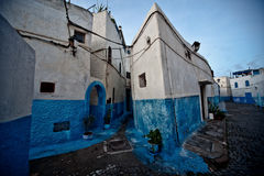 Rabat old medina. View a peculiar street in the city of Rabat, Morocco Stock Photos