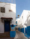 Rabat old town or medina Morocco Royalty Free Stock Images