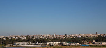 Rabat skyline Stock Photography