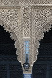 Rabat snida för arkitekturbeståndsdelsten Arkivbilder