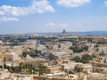 Rabat, Victoria - Gozo, Malta. View of Rabat, Victoria - Gozo, Malta, Europe Stock Photo