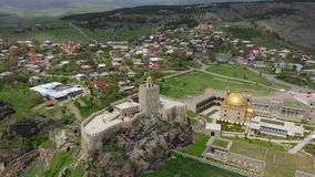 Rabati城堡全景 影视素材