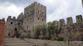 Rabati Castle, ένα φρούριο σε Akhaltsikhe, Γεωργία στοκ εικόνα
