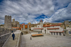 Rabati Castle in Akhaltsikhe, Georgia Stock Image