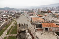 Rabati Castle in Akhaltsikhe, Georgia. Stock Photography
