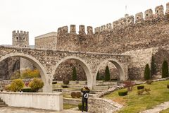Rabati Castle in Akhaltsikhe, Georgia. Royalty Free Stock Photos