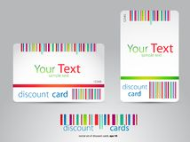 Rabatkarten Lizenzfreies Stockbild