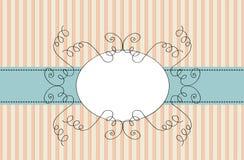 rabatowa ramowa ślimacznica ilustracja wektor