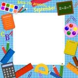 rabatowa szkoła zdjęcie stock