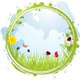 rabatowa wiosna Obraz Stock