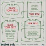 Rabatowe styl etykietki na różnych tematach Zdjęcie Stock
