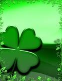 rabatowi koniczynowi kwieciści cztery leafed Obrazy Stock