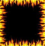 rabatowi płomienie ilustracji
