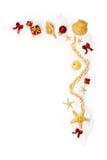 rabatowy bożych narodzeń ornamentów target2399_1_ Fotografia Royalty Free