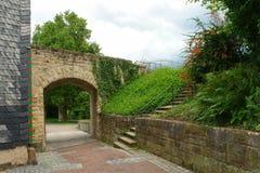 Rabatowy Esslinger Burg Obraz Stock