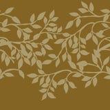 rabatowy jesień liść Obraz Royalty Free